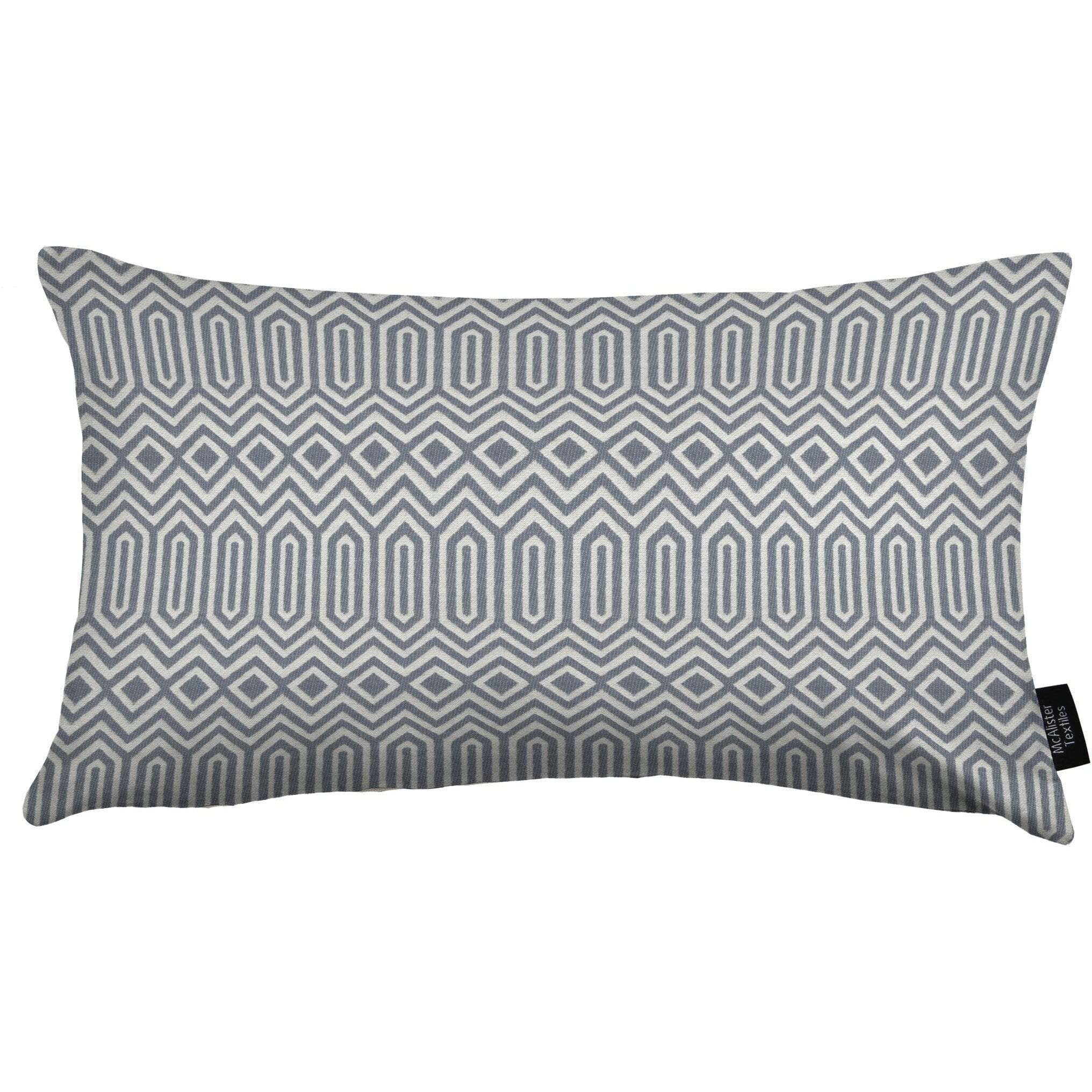 McAlister Textiles Colorado Geometric Navy Blue Pillow Pillow Cover Only 50cm x 30cm