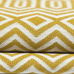 Load image into Gallery viewer, McAlister Textiles Colorado Geometric Yellow Roman Blind Roman Blinds