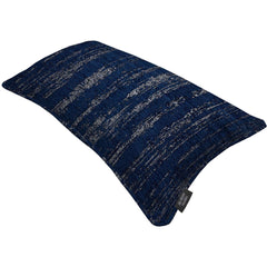 McAlister Textiles Textured Chenille Scatter Cushion - Navy Blue-Cushions and Covers-