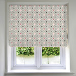 Load image into Gallery viewer, McAlister Textiles Laila Cotton Blush Pink Roman Blind Roman Blinds Standard Lining 130cm x 200cm