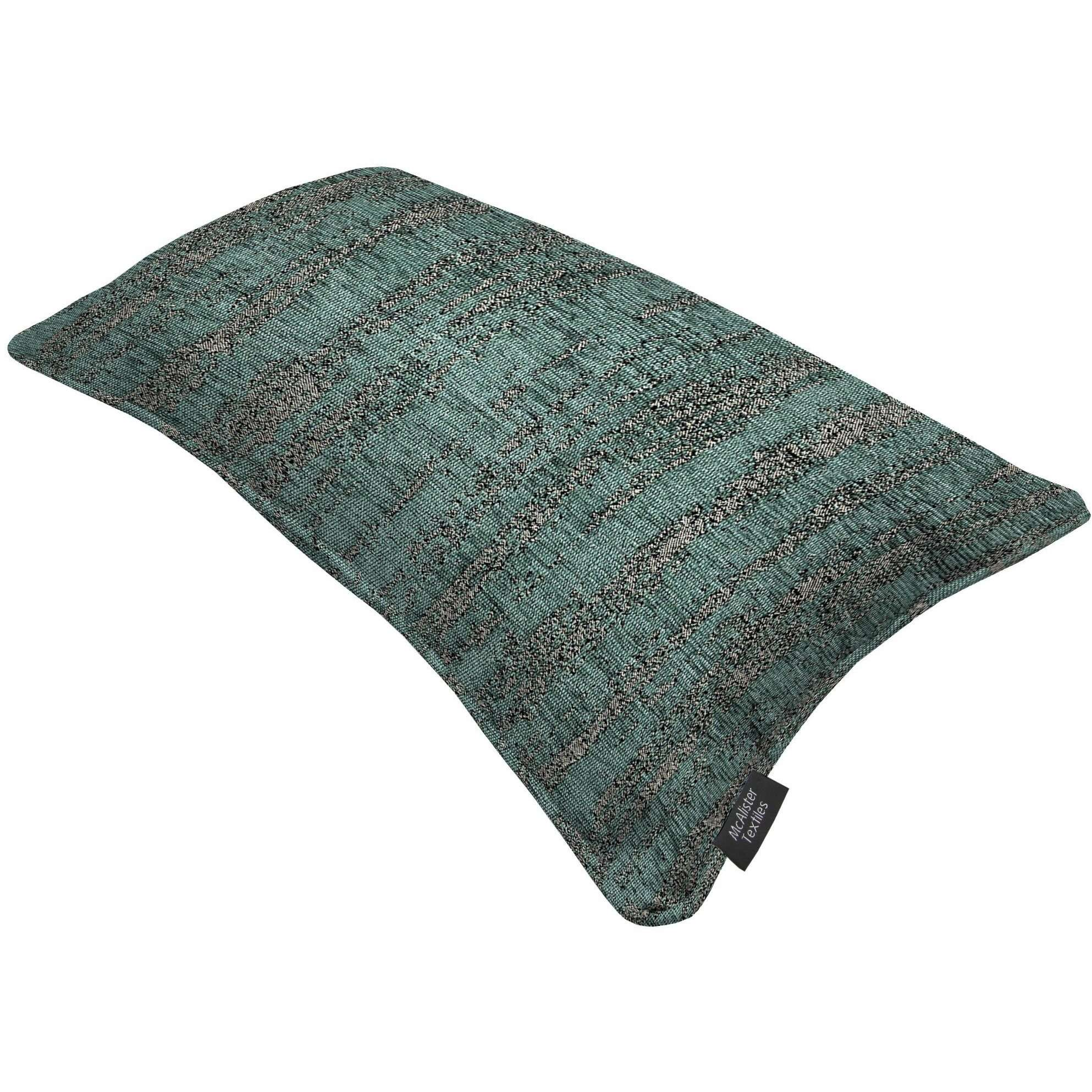 McAlister Textiles Textured Chenille Teal Cushion Cushions and Covers