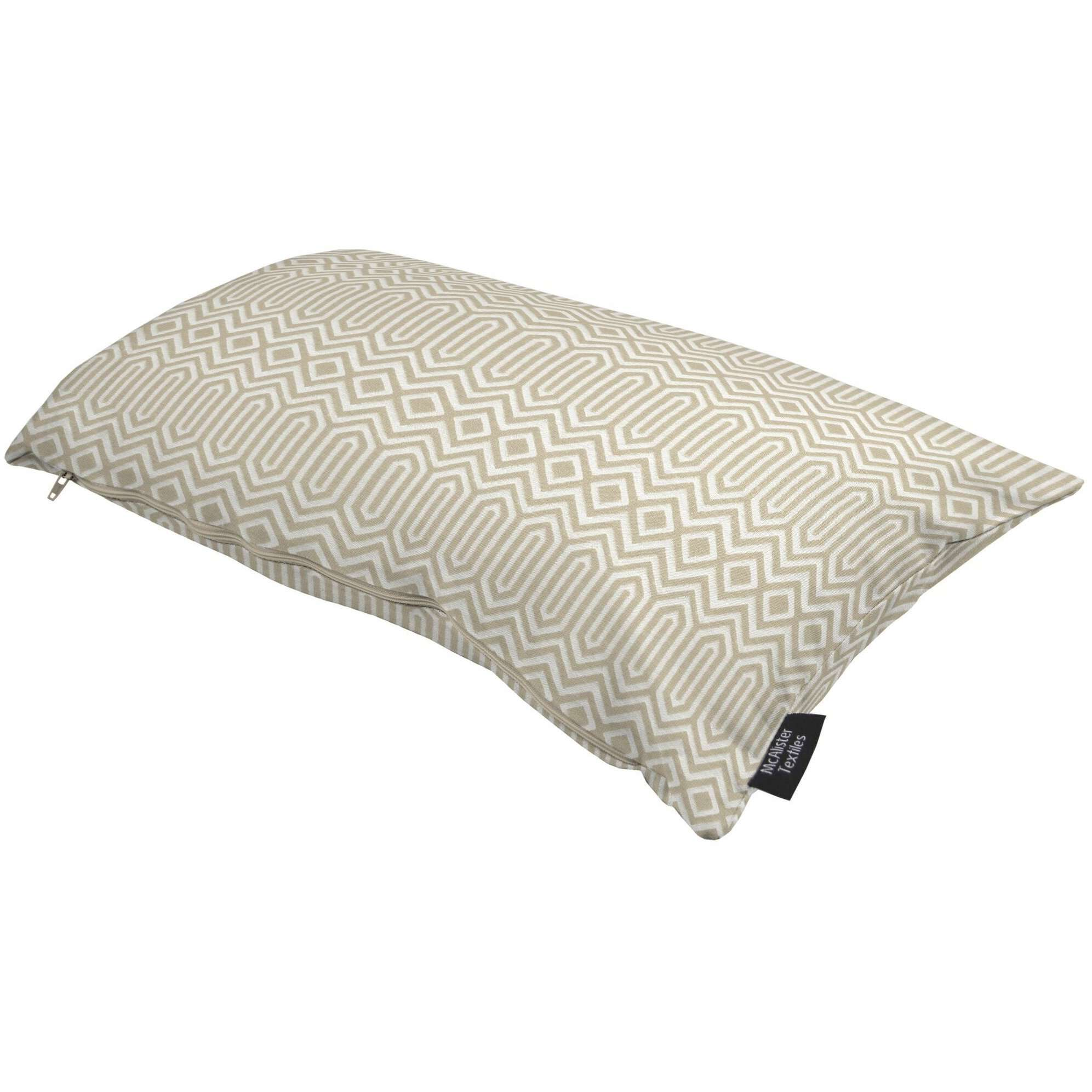 McAlister Textiles Colorado Geometric Taupe Beige Pillow Pillow