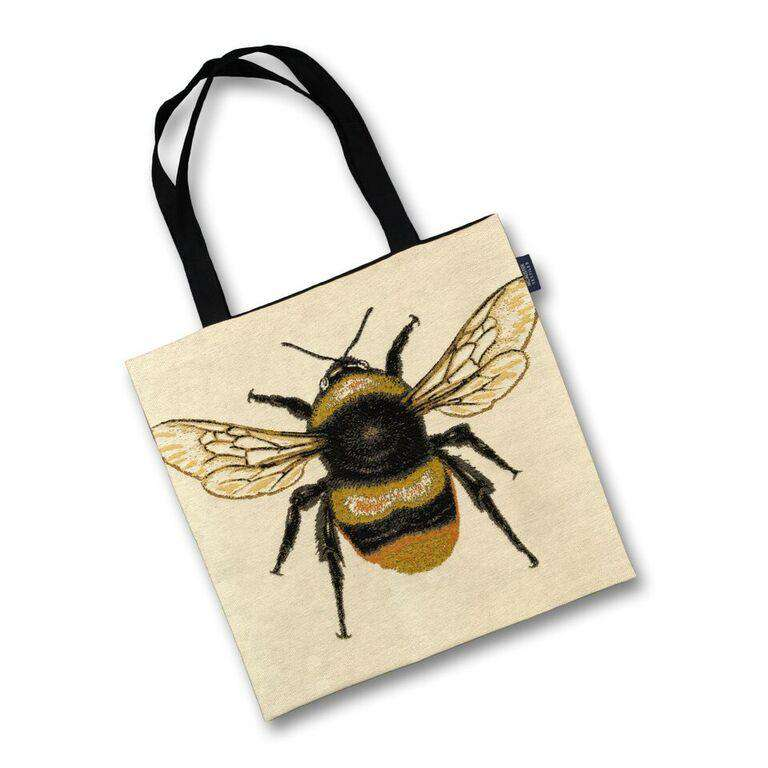 McAlister Textiles Queen Bee Tapestry Tote Bag Tote Bag