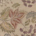 Load image into Gallery viewer, McAlister Textiles Floris Vintage Floral Linen Curtains Tailored Curtains