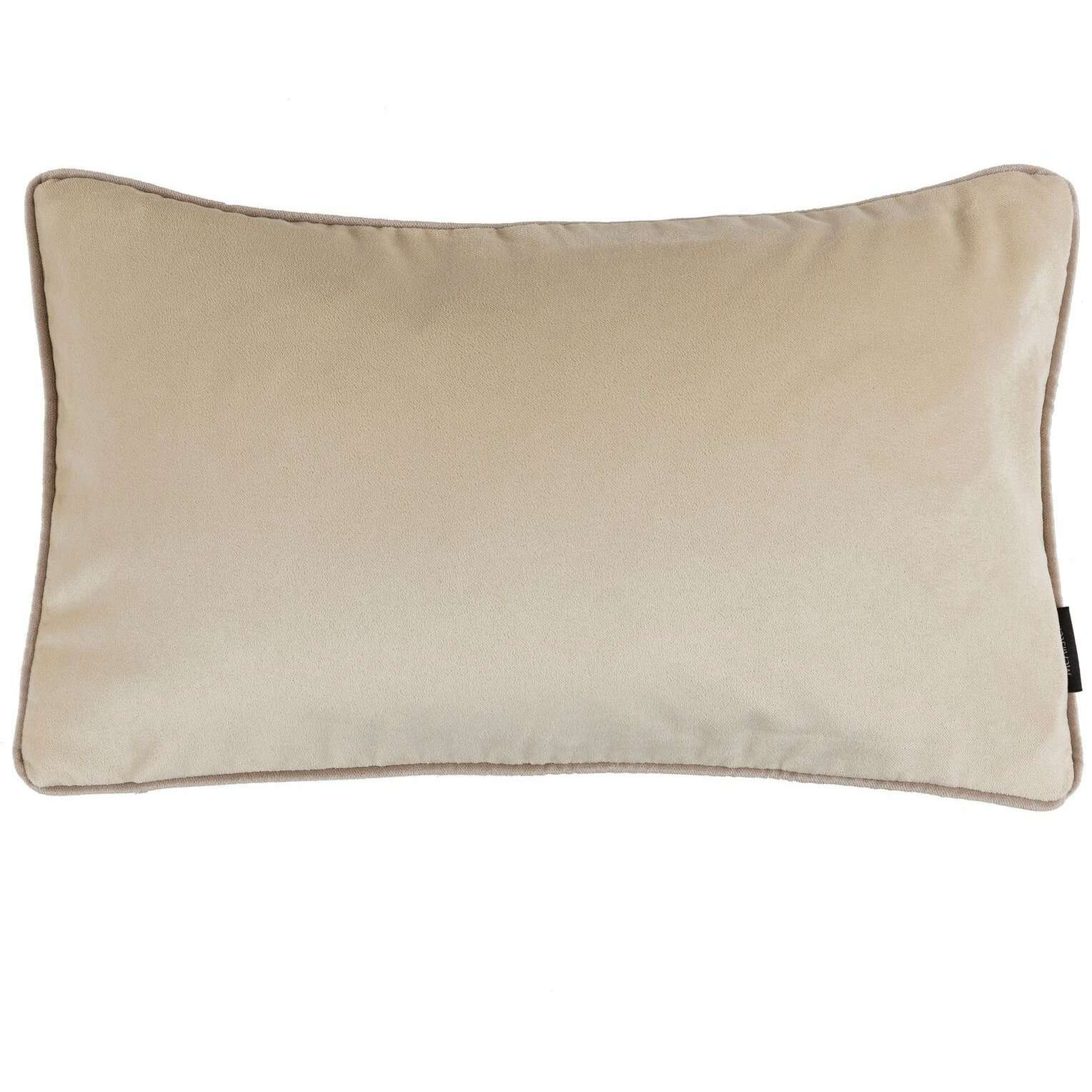 McAlister Textiles Matt Champagne Gold Velvet Cushion Cushions and Covers Cover Only 50cm x 30cm