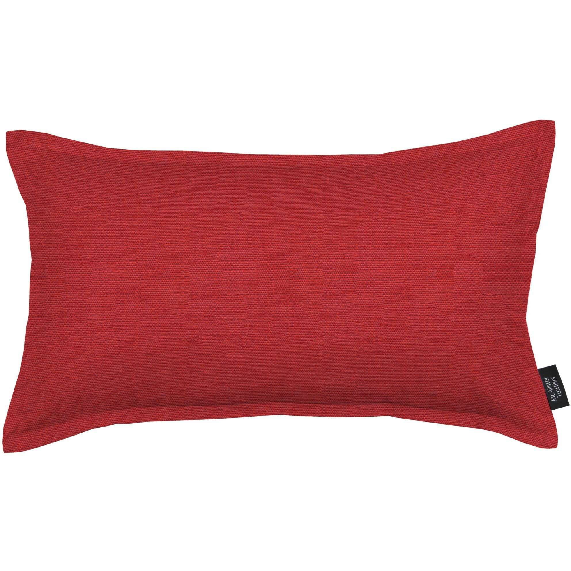 McAlister Textiles Savannah Wine Red Pillow Pillow Cover Only 50cm x 30cm