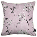 Carica l'immagine nel visualizzatore di Gallery, McAlister Textiles Meadow Blush Pink Floral Cotton Print Pillow Pillow Cover Only 43cm x 43cm