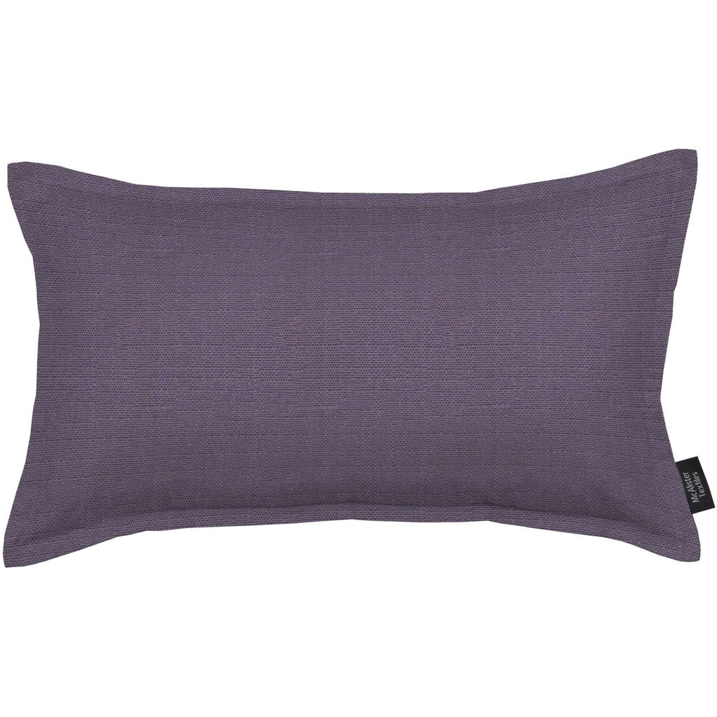 McAlister Textiles Savannah Aubergine Purple Cushion Cushions and Covers Cover Only 50cm x 30cm