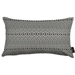 Load image into Gallery viewer, McAlister Textiles Colorado Geometric Black Cushion Cushions and Covers Cover Only 50cm x 30cm