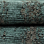 Load image into Gallery viewer, McAlister Textiles Textured Chenille Teal Curtains Tailored Curtains
