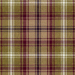 Load image into Gallery viewer, McAlister Textiles Angus Purple + Green Tartan Curtains Tailored Curtains