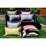 Load image into Gallery viewer, McAlister Textiles Rhumba Accent Lilac Purple + Grey Pillow Pillow