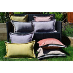 Load image into Gallery viewer, McAlister Textiles Rhumba Accent Grey + Taupe Beige Cushion Cushions and Covers