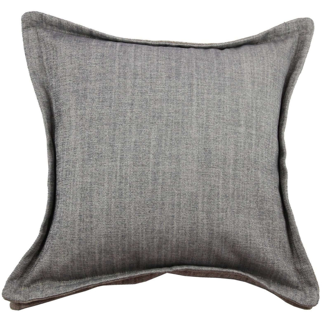McAlister Textiles Rhumba Accent Grey + Taupe Beige Cushion Cushions and Covers Cover Only 43cm x 43cm
