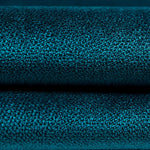 Load image into Gallery viewer, McAlister Textiles Cancun Striped Blue Teal Velvet Cushion Cushions and Covers