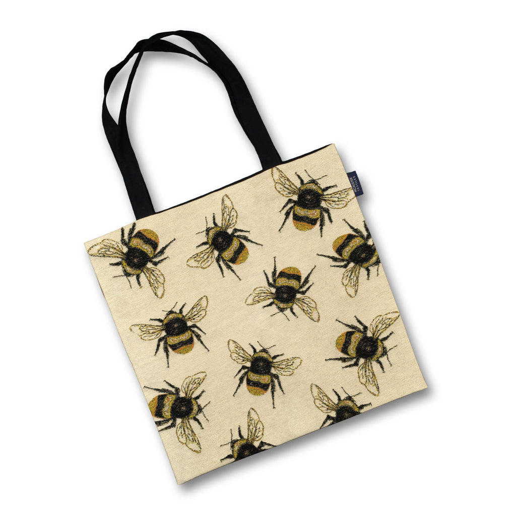McAlister Textiles Bumble Bees Tapestry Tote Bag Tote Bag