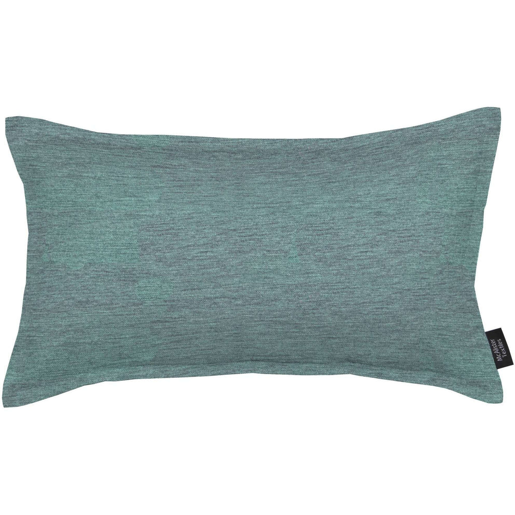 McAlister Textiles Plain Chenille Wedgewood Blue Pillow Pillow Cover Only 50cm x 30cm