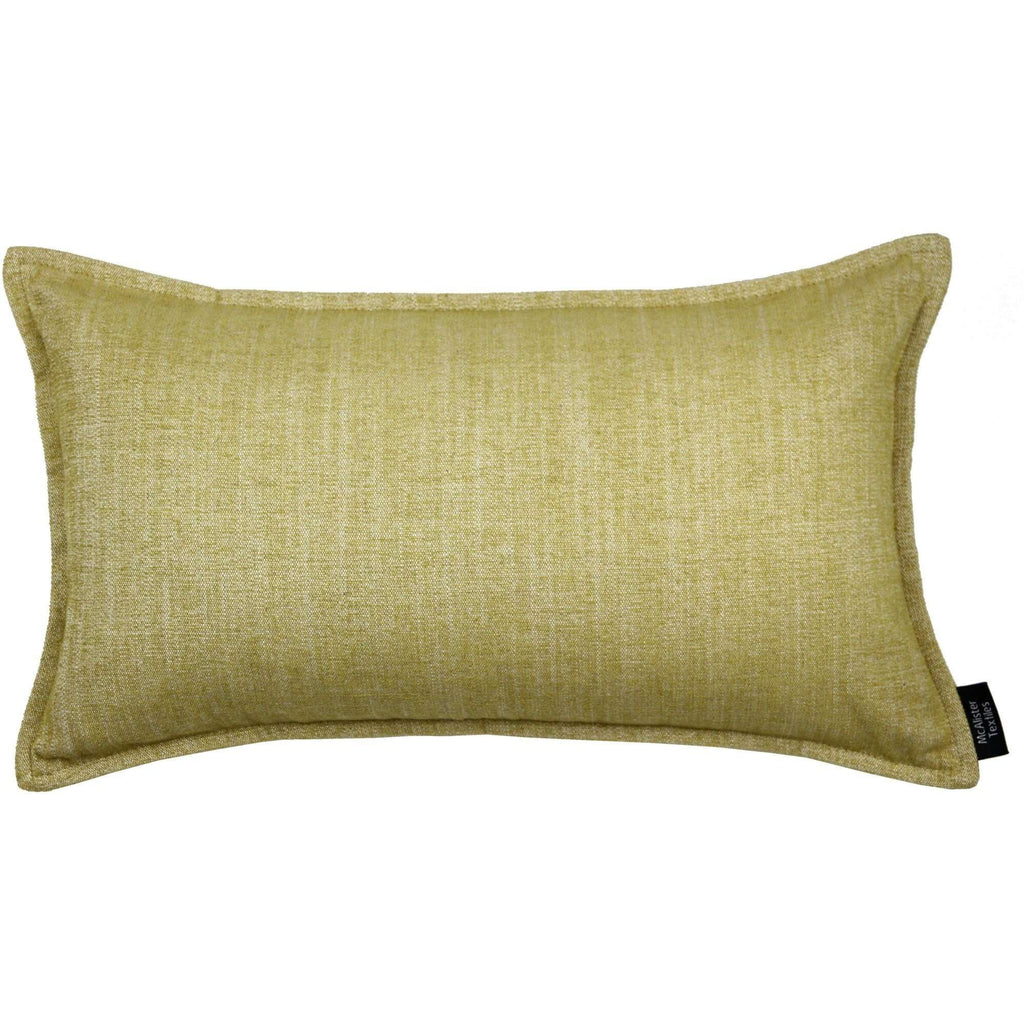 McAlister Textiles Rhumba Ochre Yellow Cushion Cushions and Covers Cover Only 50cm x 30cm