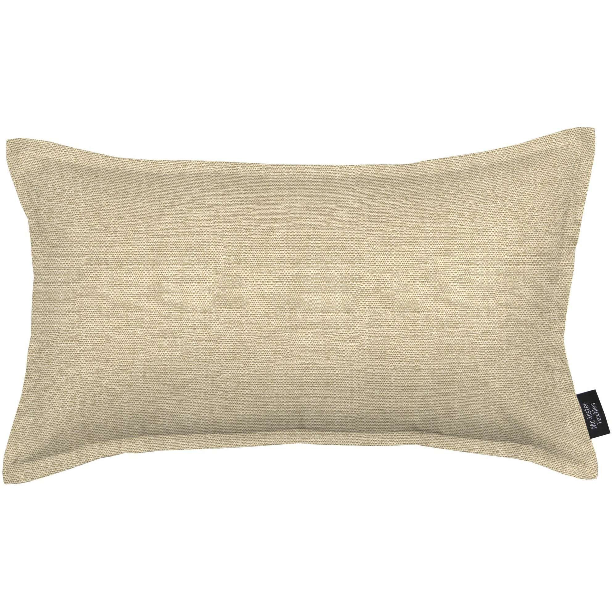 McAlister Textiles Savannah Beige Grey Cushion Cushions and Covers Cover Only 50cm x 30cm