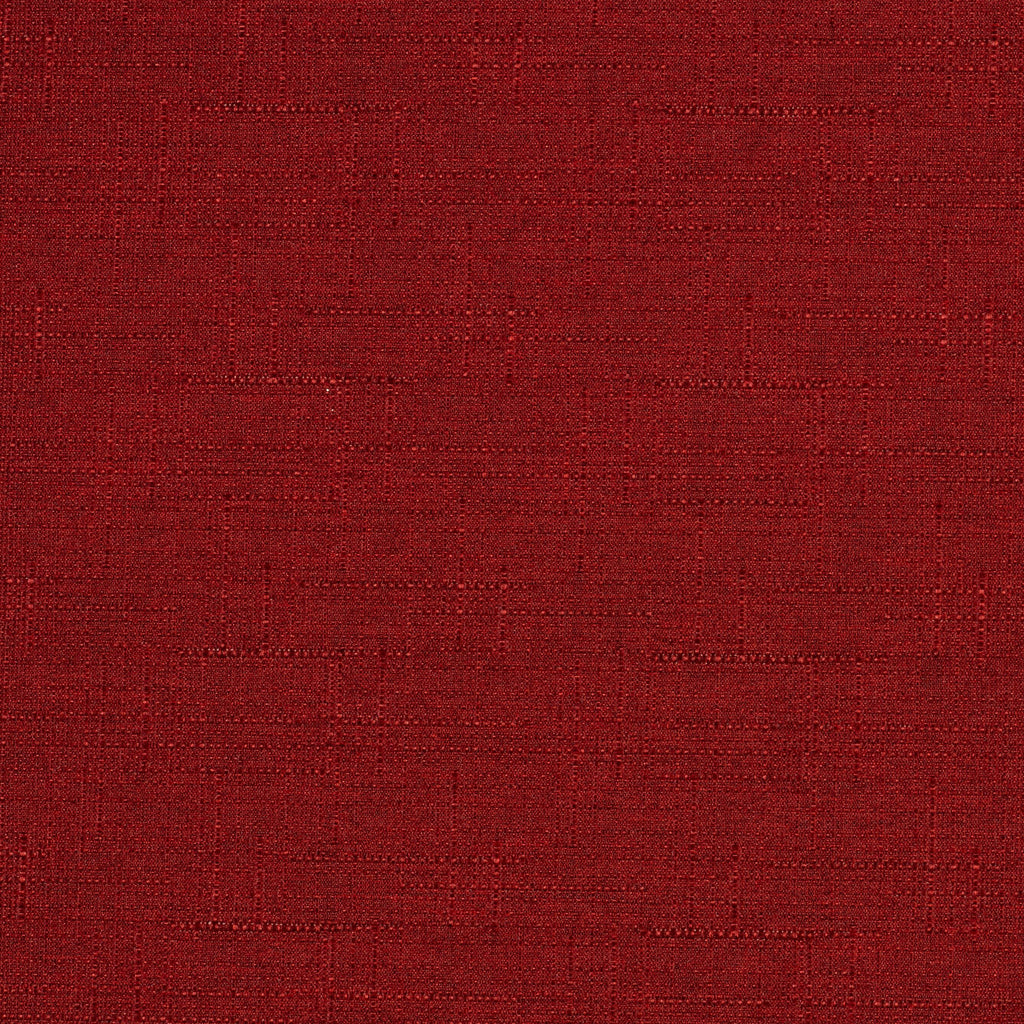 McAlister Textiles Nero Red Linen Blackout Fabric Fabrics 1 Metre