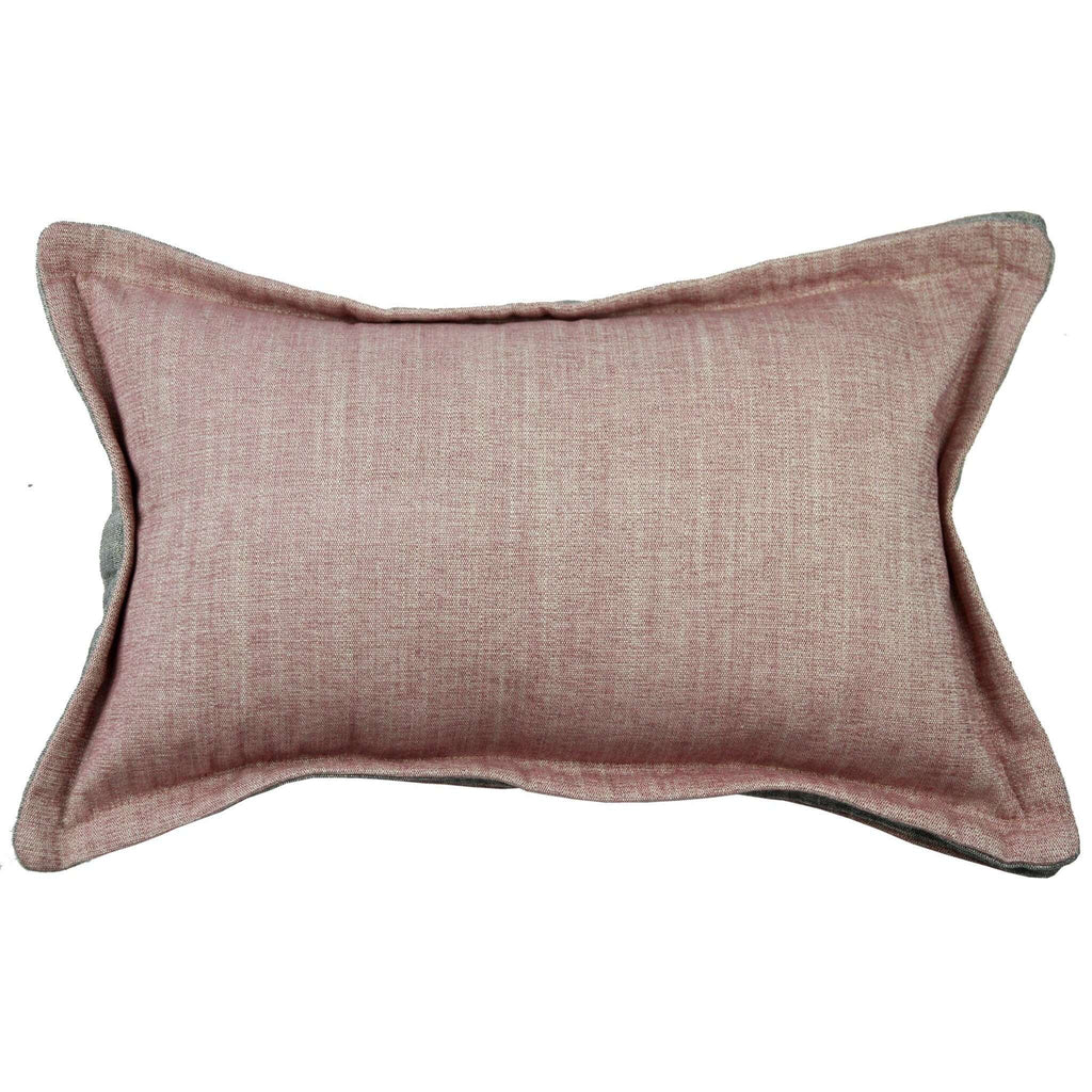 McAlister Textiles Rhumba Accent Blush Pink + Grey Cushion Cushions and Covers Cover Only 50cm x 30cm