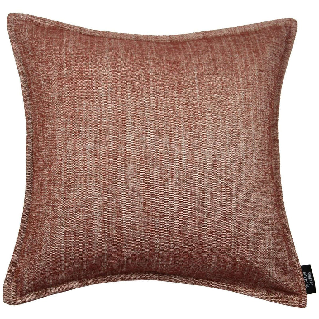 McAlister Textiles Rhumba Burnt Orange Cushion Cushions and Covers Cover Only 43cm x 43cm