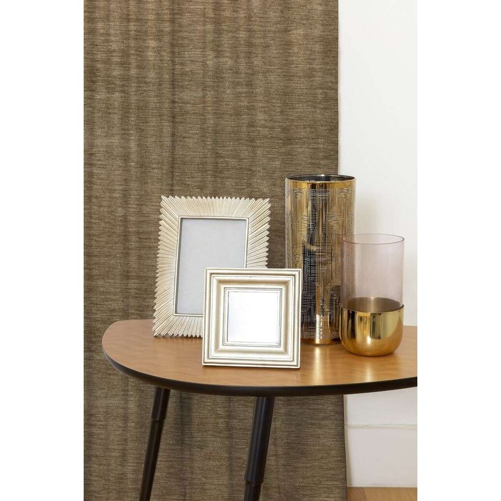 McAlister Textiles Plain Chenille Taupe Beige Curtains Tailored Curtains