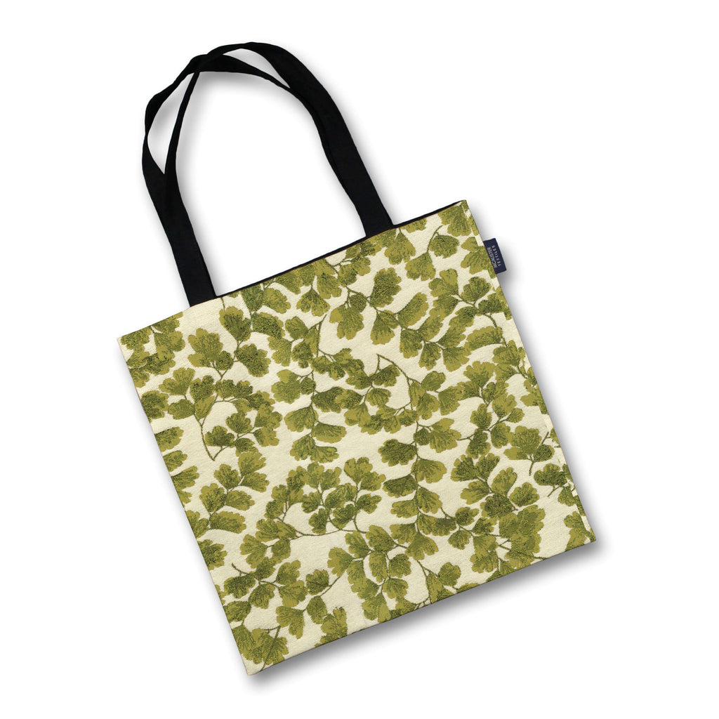 McAlister Textiles Maidenhair Fern Green Tapestry Tote Bag Tote Bag