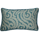 Carica l'immagine nel visualizzatore di Gallery, McAlister Textiles Little Leaf Teal Pillow Pillow Cover Only 50cm x 30cm