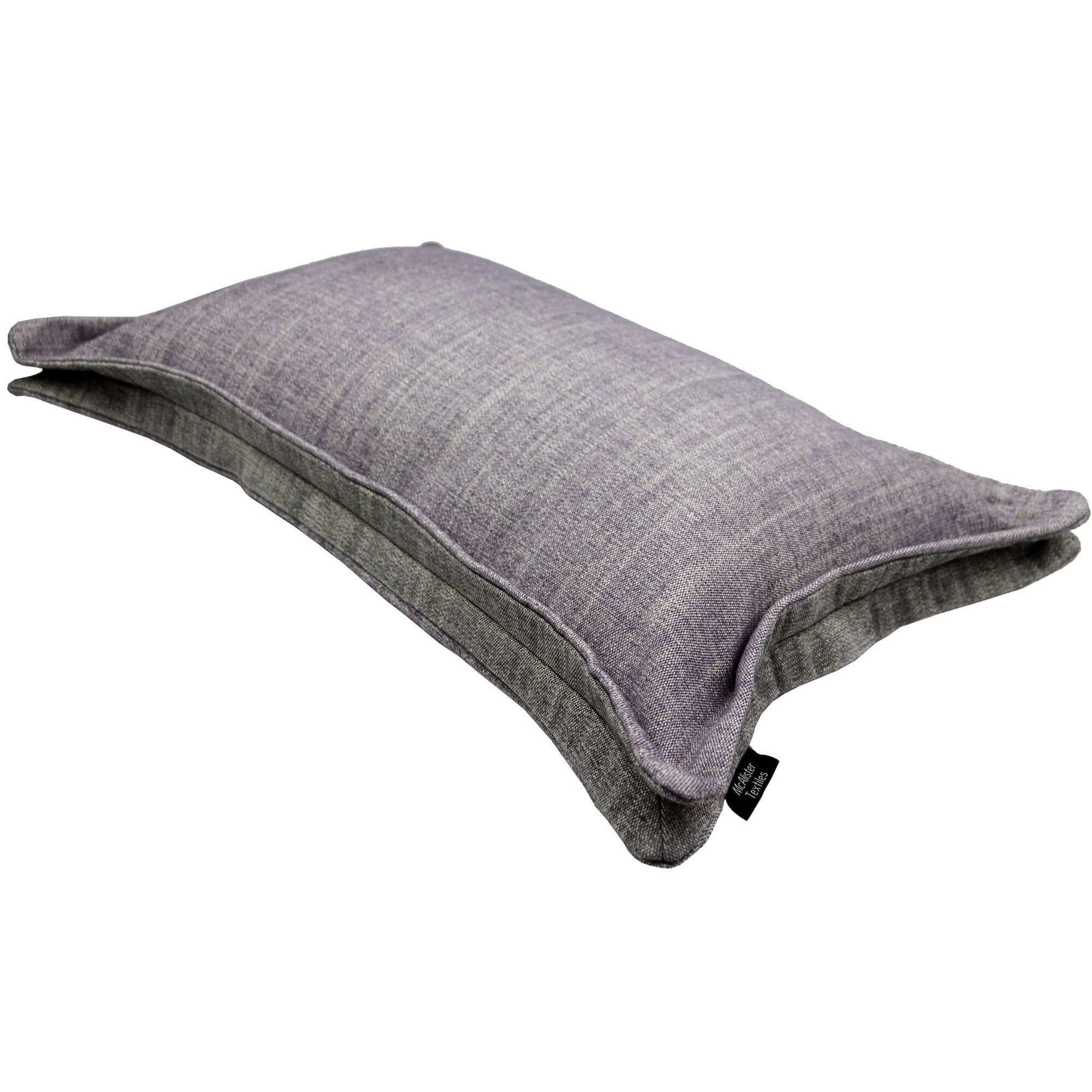McAlister Textiles Rhumba Accent Lilac Purple + Grey Pillow Pillow