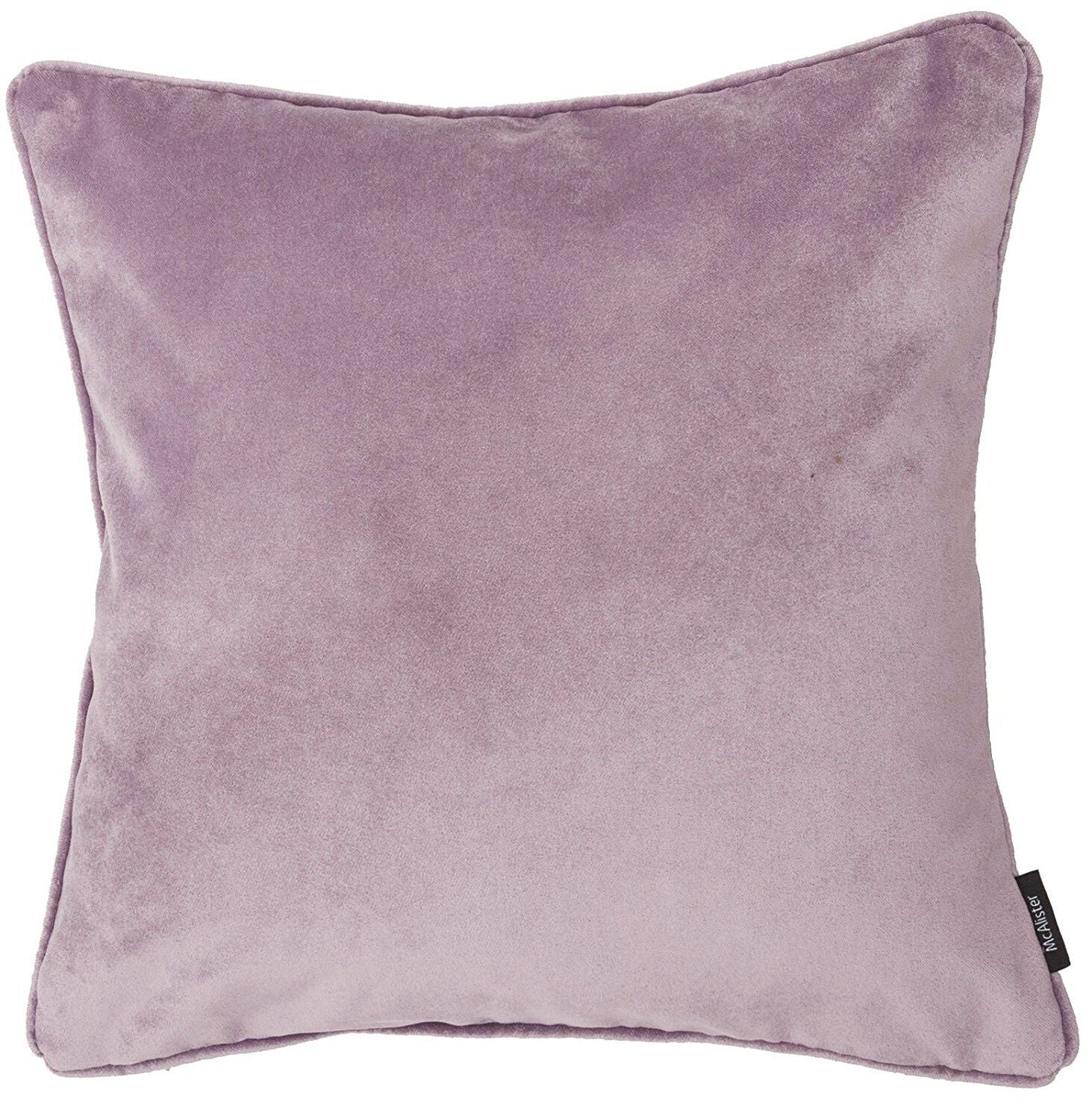 McAlister Textiles Matt Lilac Purple Velvet Bedding Set Bedding Set