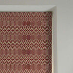 Load image into Gallery viewer, McAlister Textiles Colorado Geometric Red Roman Blind Roman Blinds