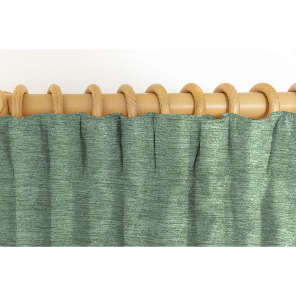 McAlister Textiles Plain Chenille Duck Egg Blue Curtains Tailored Curtains