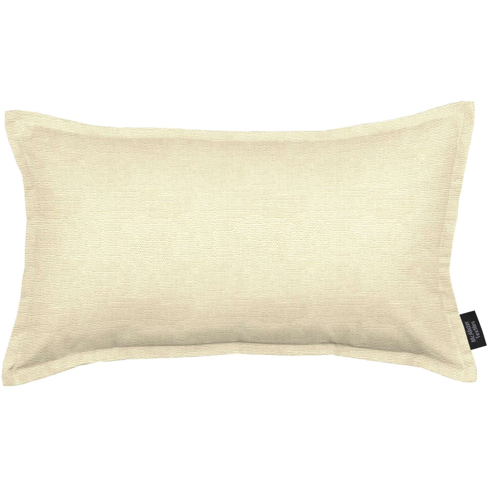 McAlister Textiles Savannah Cream Gold Pillow Pillow Cover Only 50cm x 30cm