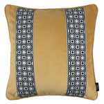 Load image into Gallery viewer, McAlister Textiles Cancun Striped Ochre Yellow Velvet Pillow Pillow