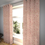"Load image into Gallery viewer, McAlister Textiles Little Leaf Blush Pink Curtains Tailored Curtains 116cm(w) x 182cm(d) (46"" x 72"")"