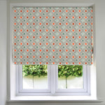 Load image into Gallery viewer, McAlister Textiles Laila Cotton Burnt Orange Roman Blind Roman Blinds Standard Lining 130cm x 200cm
