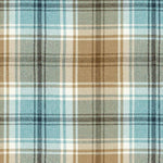 Load image into Gallery viewer, McAlister Textiles Angus Duck Egg Blue Tartan Curtains Tailored Curtains