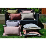 Load image into Gallery viewer, McAlister Textiles Rhumba Accent Taupe Beige + Grey Pillow Pillow