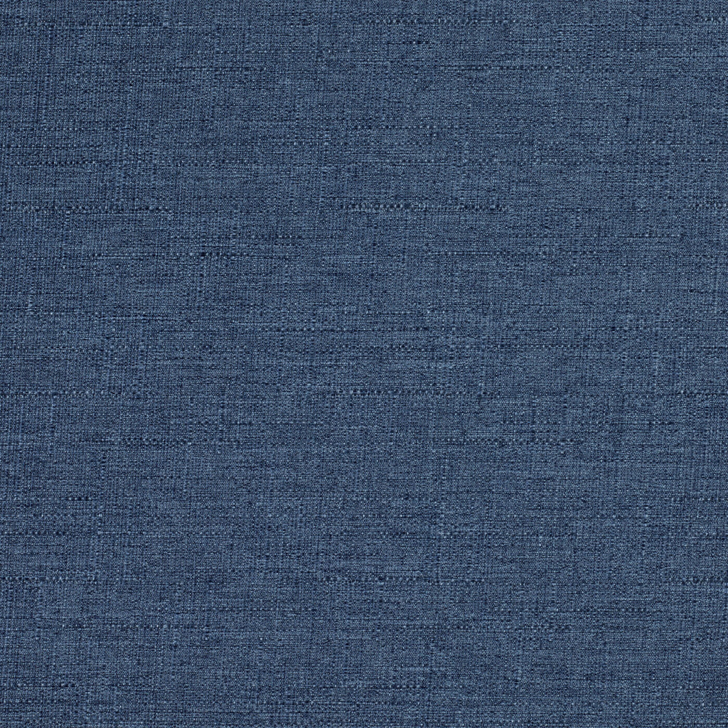 McAlister Textiles Nero Denim Blue Linen Blackout Fabric Fabrics 1 Metre