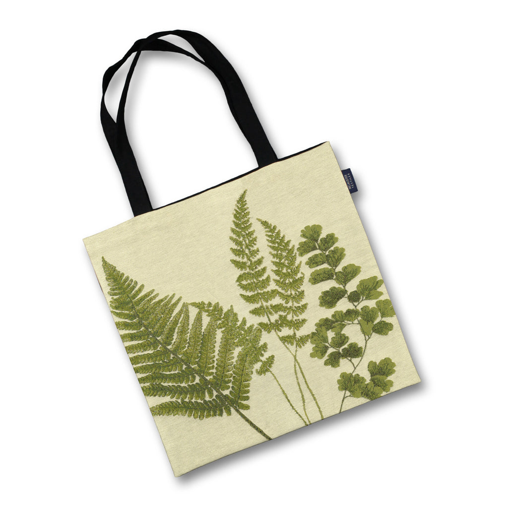 McAlister Textiles Mixed Green Fern Tapestry Tote Bag Tote Bag