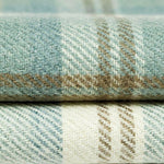 Laden Sie das Bild in den Galerie-Viewer, McAlister Textiles Heritage Duck Egg Blue Tartan Roman Blind Roman Blinds