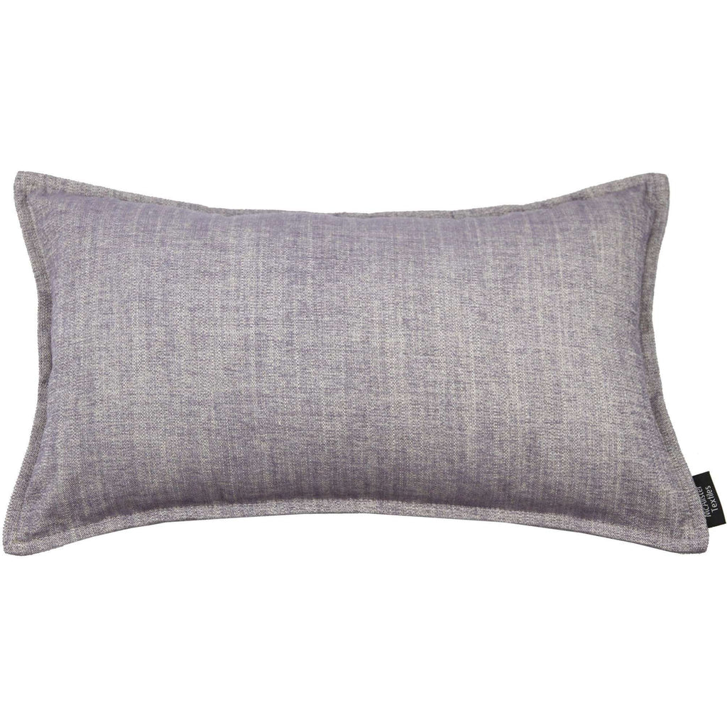 McAlister Textiles Rhumba Lilac Purple Cushion Cushions and Covers Cover Only 50cm x 30cm