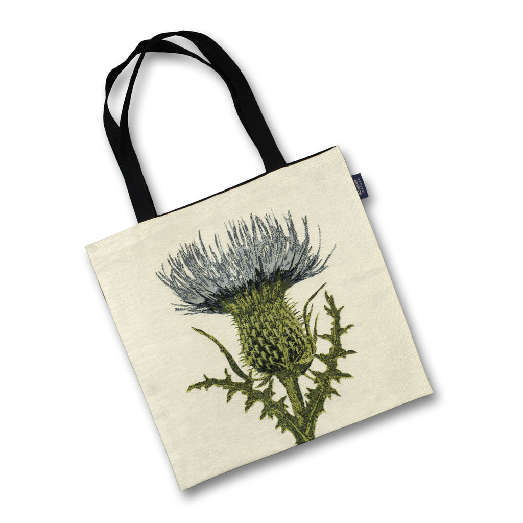 McAlister Textiles Highland Thistle Tapestry Tote Bag Tote Bag