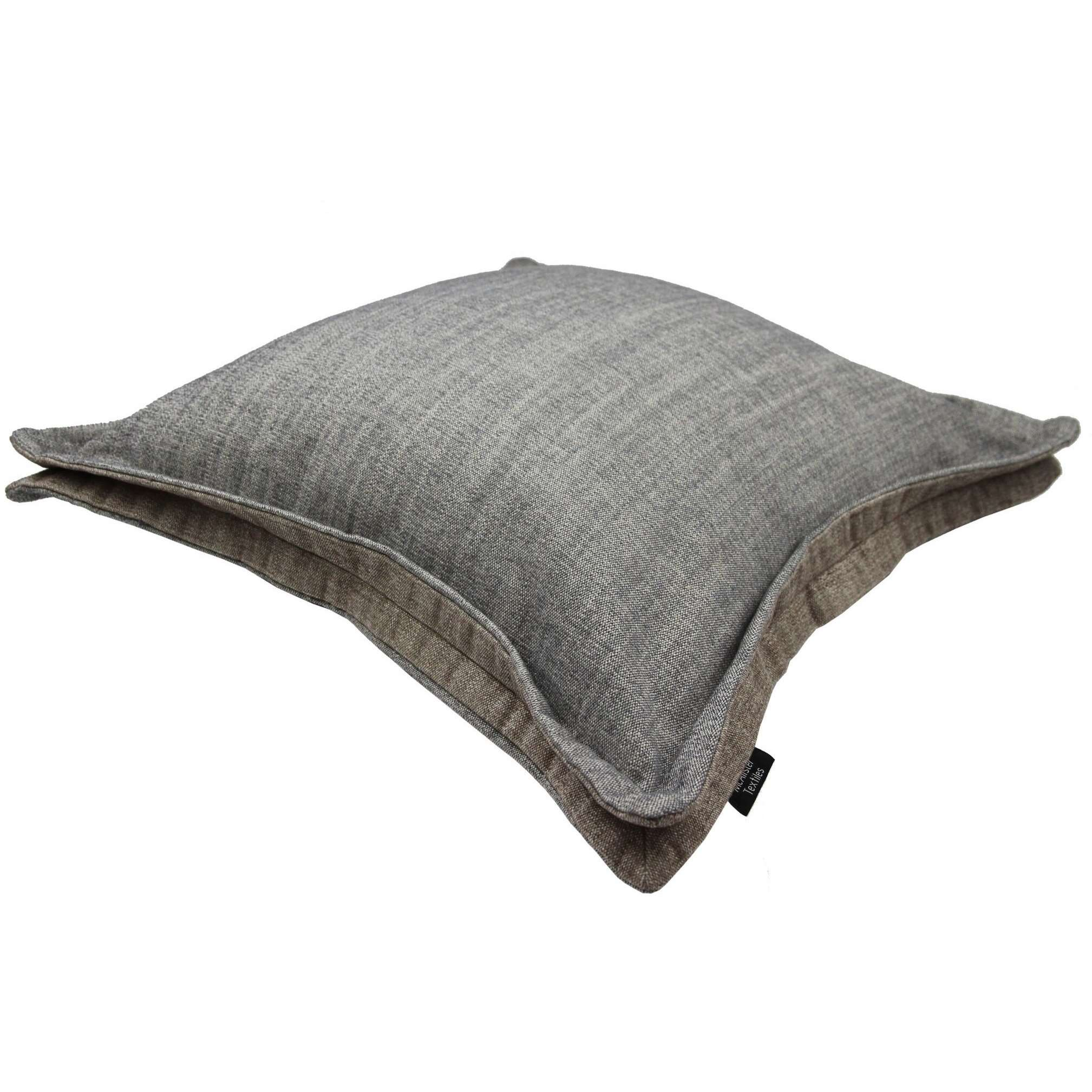 McAlister Textiles Rhumba Accent Grey + Taupe Beige Cushion Cushions and Covers