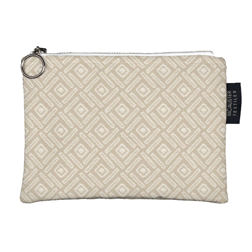 McAlister Textiles Elva Duck Egg Blue Makeup Bag Clutch Bag