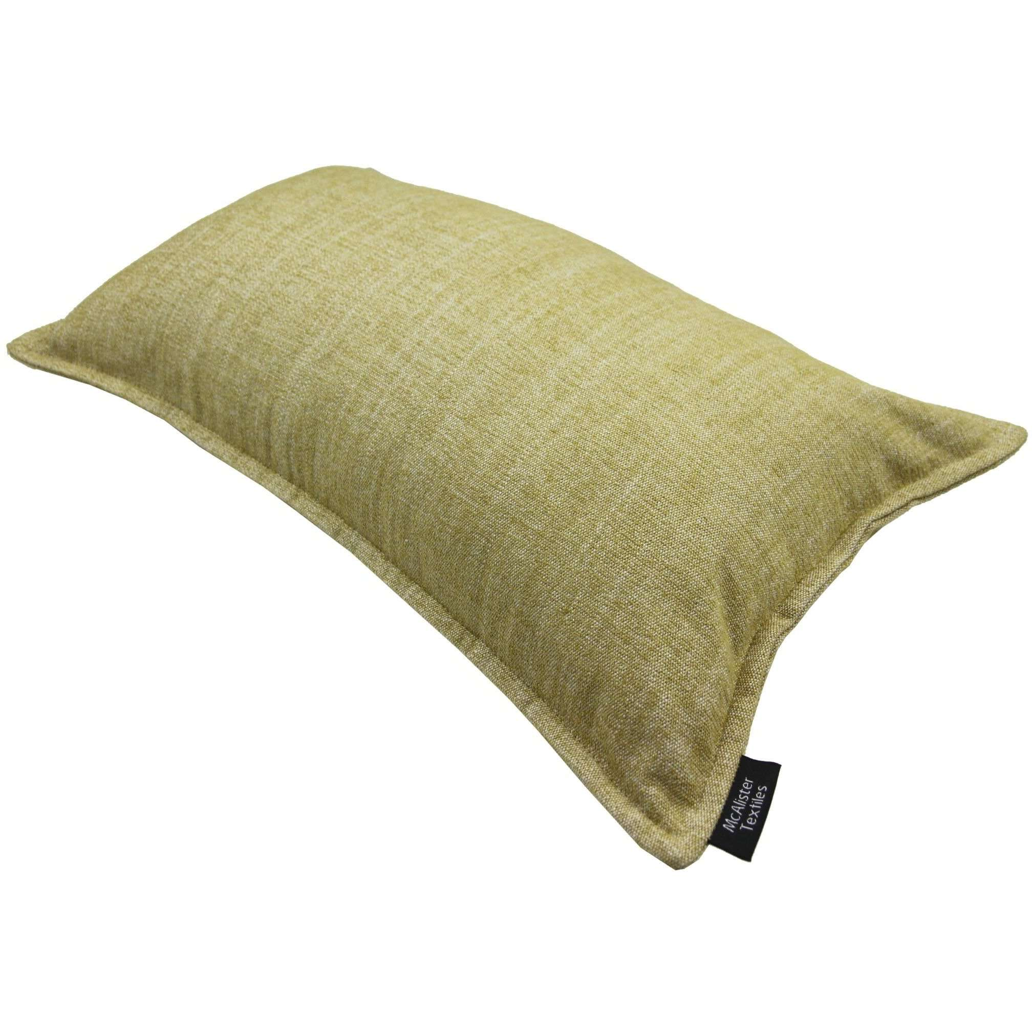 McAlister Textiles Rhumba Ochre Yellow Cushion Cushions and Covers