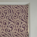 Load image into Gallery viewer, McAlister Textiles Little Leaf Aubergine Purple Roman Blind Roman Blinds