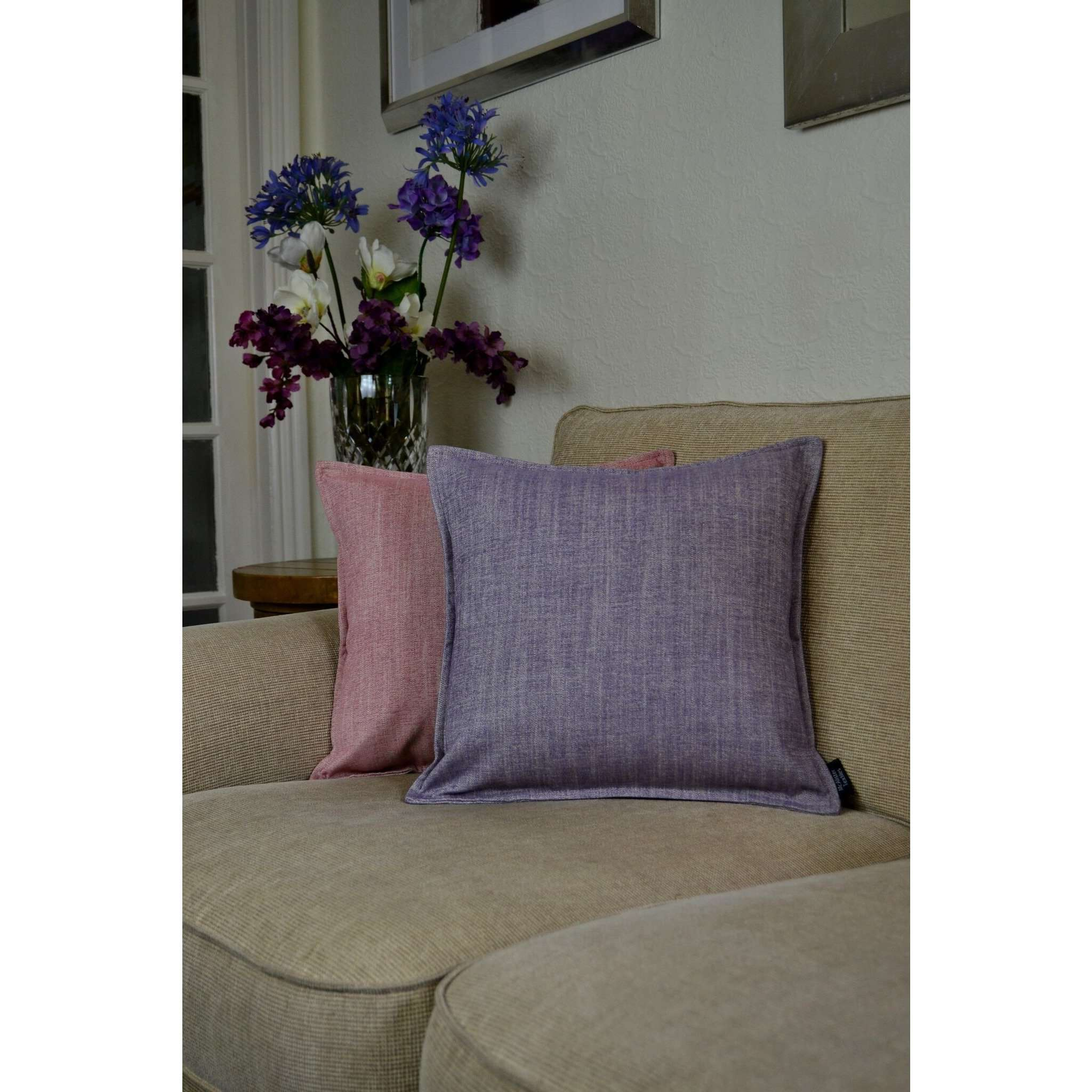 McAlister Textiles Rhumba Lilac Purple Cushion Cushions and Covers