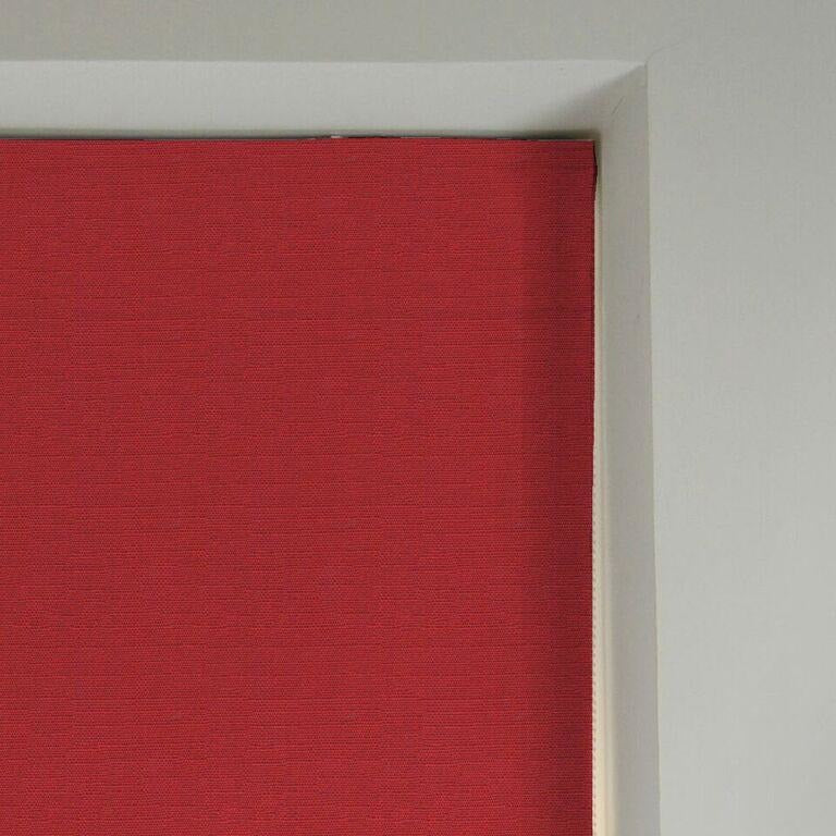 McAlister Textiles Savannah Wine Red Roman Blind Roman Blinds